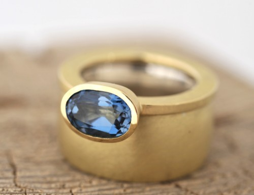 Ring Gold Topas