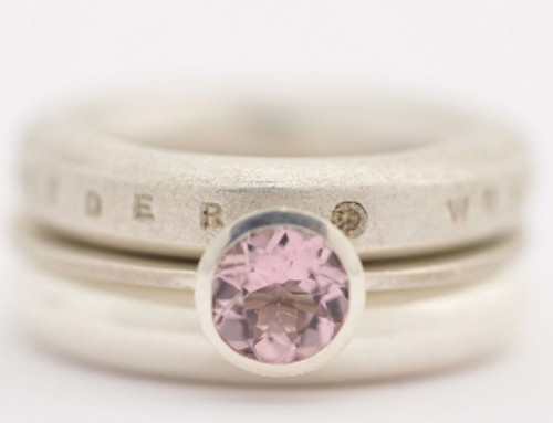 Ring Silber Morganit