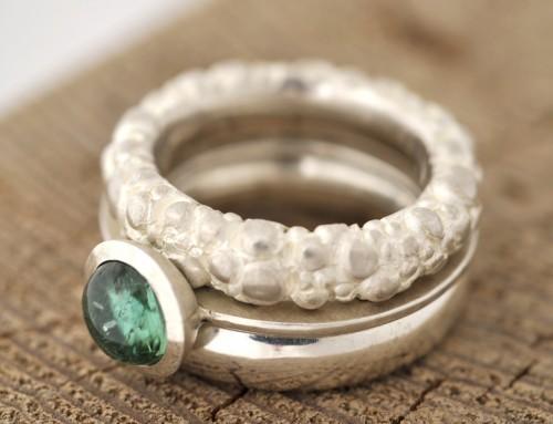 Ring Silber Turmalin