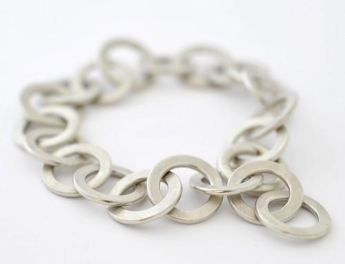 Armband Silber Ösenarmband